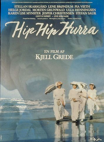Film plakat. Hip Hip Hurra 1987