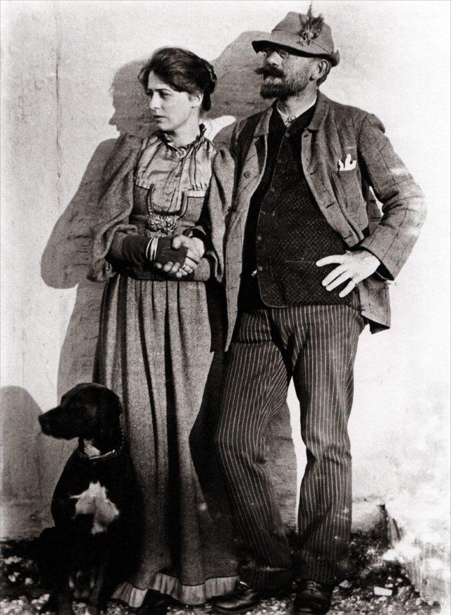 Marie og P.S. Krøyer 1892