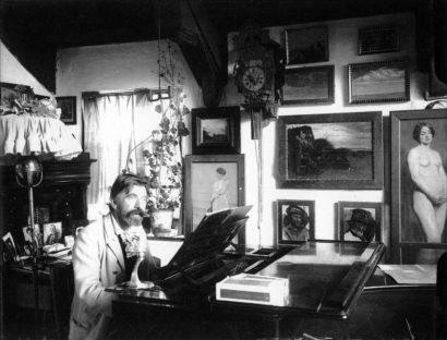 P.S. Krøyer ved flyglet