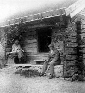 Marie Krøyer og Hugo Alven