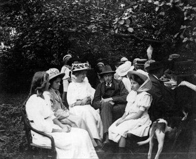 Marie Krøyer, Hugo  Alfven i Anchers have