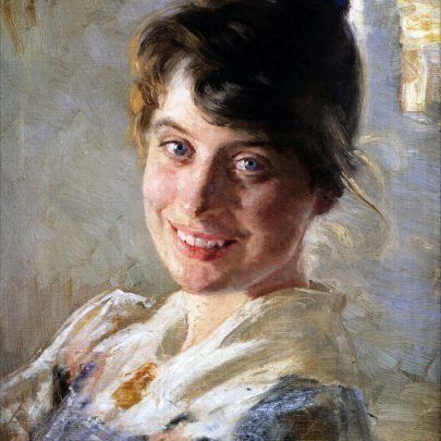 Marie Krøyer - malet af P. S. Krøyer 1889