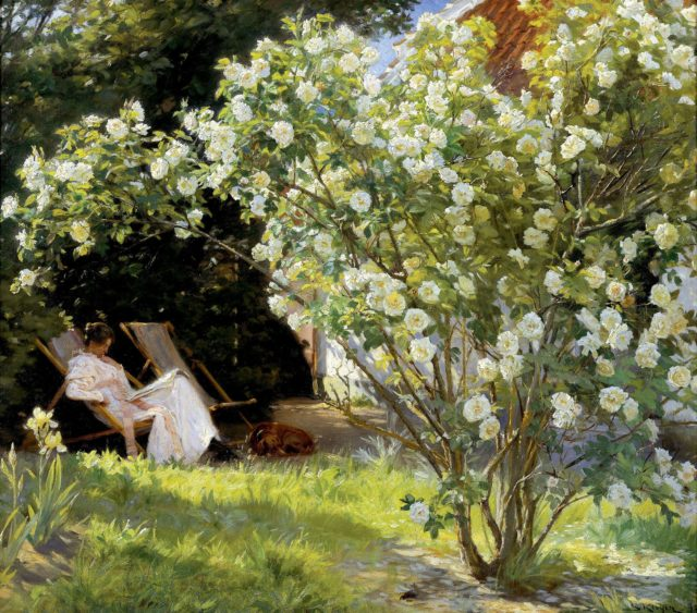 Marie Krøyer P.S. Krøyer 1892