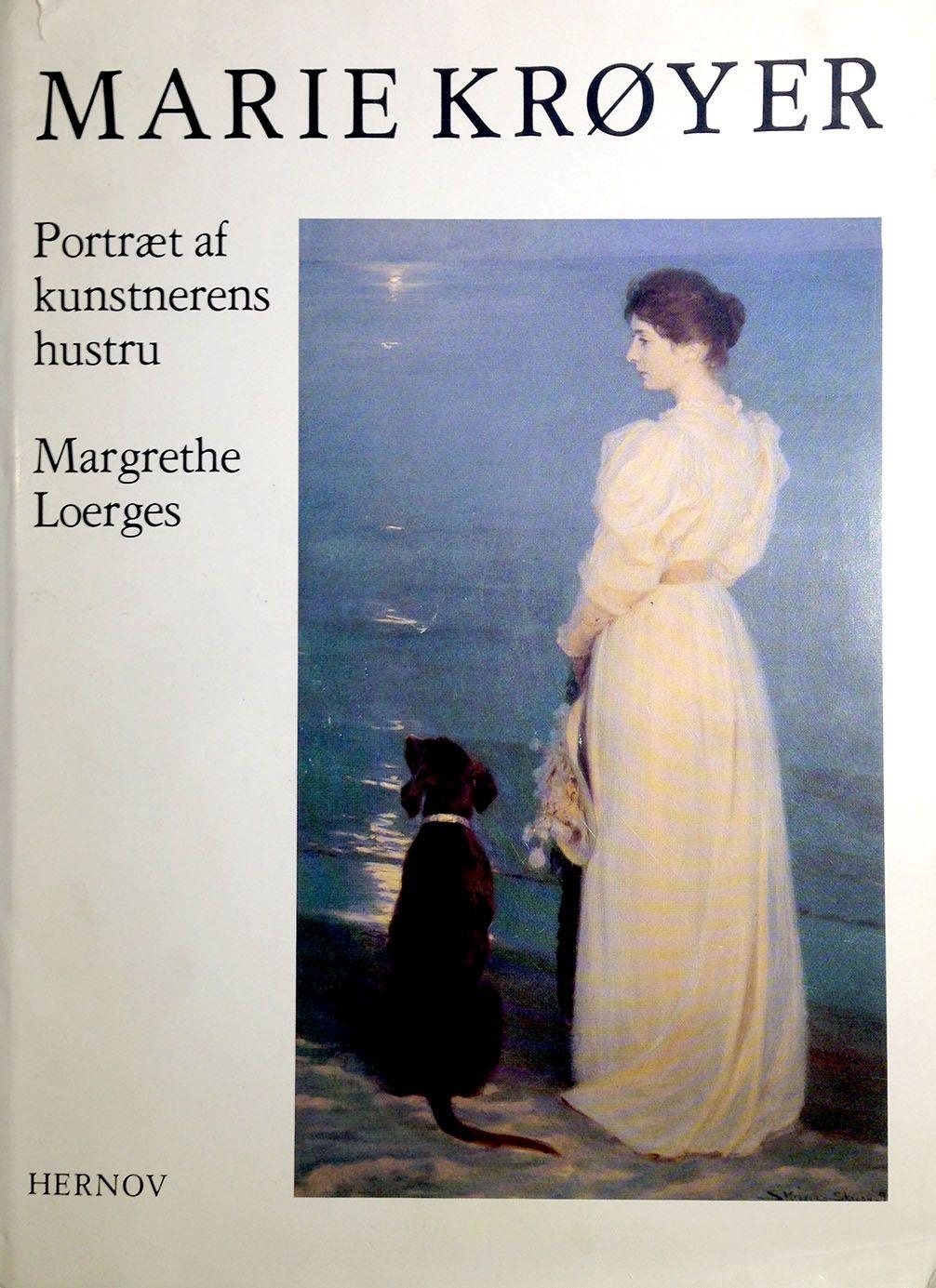 Portræt af kunstnerens hustru - Margrethe Loerges