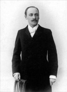 En ung Hugo Alfven