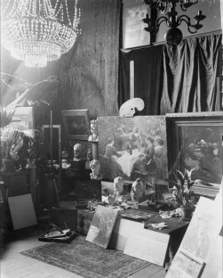 P.S. Krøyers atelier. 1888