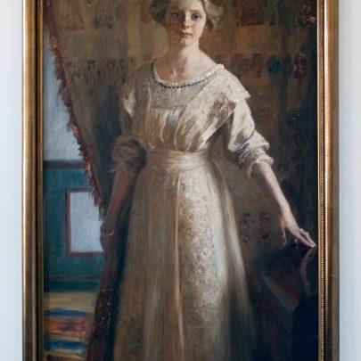 Krøyers sidste maleri af Vibeke